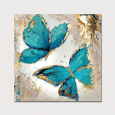 2b40b349355e Oil Painting Hand Painted - Floral   Botanical Modern Rolled Canvas