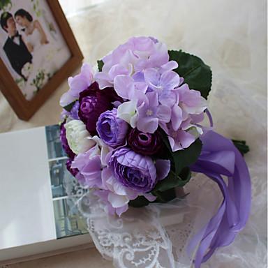svadbeni cvijet umjetni cvijet / jedinstveno vjenčanje dekor promo / vjenčanje prilagođeni materijali 0-10 cm