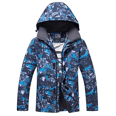 1746924715 RIVIYELE Men s Women s Ski Jacket Windproof Warm Breathability Winter  Sports Cotton POLY Top Ski Wear