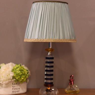 Egyszerű Dekoratív Asztali lámpa Kompatibilitás Hálószoba Kristály 220 V