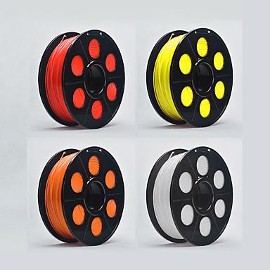 baratos Suprimentos para Impressoras 3D-KCAMEL Filamento da impressora 3D TPU 17.5 mm 1 kg para impressora 3D