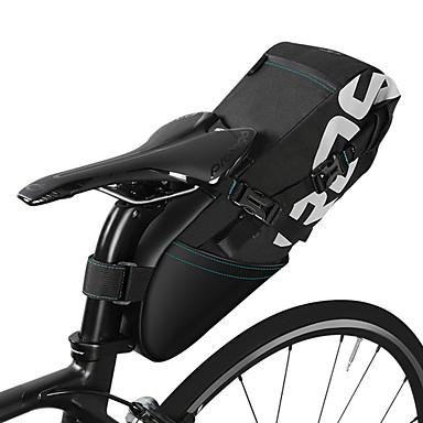 abordables Sacoches de Vélo-ROSWHEEL 10 L Sacoche de Selle de Vélo Multifonctionnel Grande Capacité Logo Réfléchissant Sac de Vélo Polyester Sac de Cyclisme Sacoche de Vélo Vélo de Route Vélo tout terrain / VTT Vélo pliant