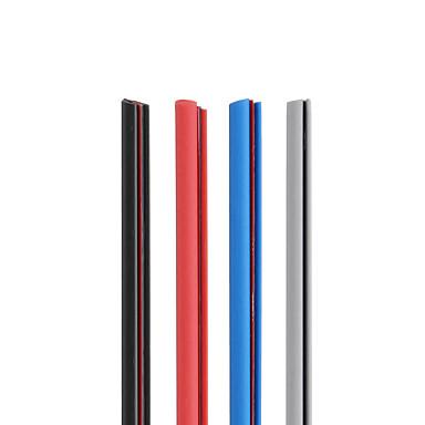5 M Nero - Blu - Rosso - Grigio Gomma Auto Porta Protezione Del Bordo Anti-collisione Striscia Guarnizione Trim Protezione Modanatura #07113864 A Tutti I Costi