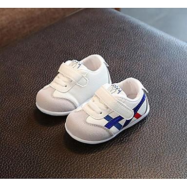 voordelige Babyschoenentjes-Jongens / Meisjes Comfortabel Netstof Sneakers Zuigelingen (0-9m) / Peuter (9m-4ys) Groen / Roze / Lichtblauw Lente & Herfst / Zomer