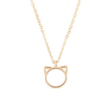 نسائي عقد ذهبي فضي 50 cm قلادة مجوهرات 1PC من أجل مناسب للبس اليومي مهرجان