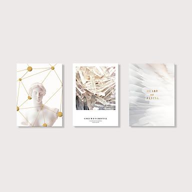 abordables Toiles-Imprimé Impression sur Toile - Nature morte Moderne Moderne Trois Panneaux Art Prints