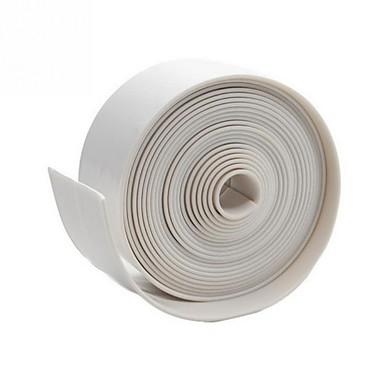 Ruban adhésif résistant à la moisissure utilisation durable pvc matériel cuisine salle de bain mur scellement ruban gadgets