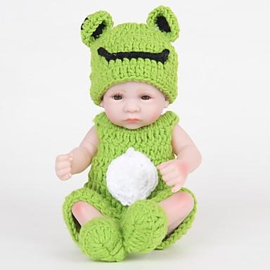 ราคาถูก Dolls-FeelWind Reborn Dolls เด็กผู้ชาย 12 inch ซิลิโคนร่างกายเต็มรูปแบบ ซิลิโคน ไวนิล - เหมือนจริง ทำด้วยมือ น่ารัก Child Safe เด็ก / วัยรุ่น Non Toxic เด็ก ทุกเพศ Toy ของขวัญ
