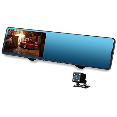 abordables DVR de Voiture-Vasens 168P 720p / 1080p Design nouveau / Lentille double DVR de voiture 170 Degrés Grand angle CMOS 4.3 pouce LCD Dash Cam avec Wi-Fi / G-Sensor / Mode Parking Non Enregistreur de voiture