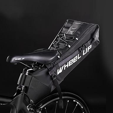abordables Sacoches de Vélo-Wheel up 10 L Sacoche de Selle de Vélo Portable Vestimentaire Facile à Installer Sac de Vélo Ripstop 600D Sac de Cyclisme Sacoche de Vélo Cyclisme Activités Extérieures Trail
