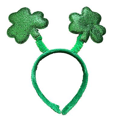 e9095014a0e6 Peter Pan Sombrero de trébol irlandés Niños Adulto Hombre Halloween  Carnaval Día de San Patricio Festival