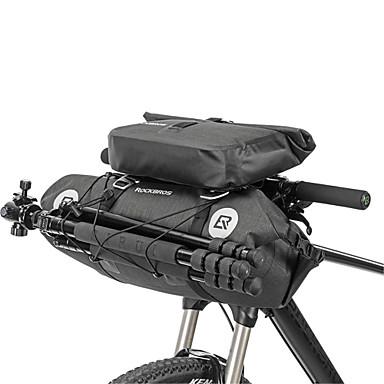 abordables Sacoches de Vélo-ROCKBROS Sacoche de Guidon de Vélo Multifonctionnel Grande Capacité Etanche Sac de Vélo TPU Nylon Sac de Cyclisme Sacoche de Vélo Cyclisme Vélo de Route Vélo tout terrain / VTT Motocross