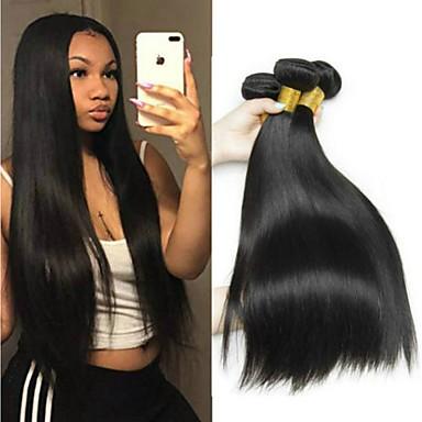4 Bundles Brazilian Hair Straight Unprocessed Human