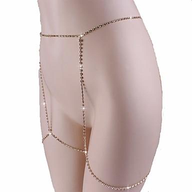 42d8b41f96474 Women's Body Jewelry 95 cm Waist Chain Gold Statement Gold Plated ...