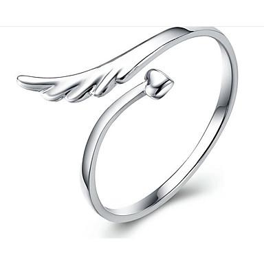 povoljno Fini nakit-Žene Klasičan Prsten S925 Sterling Silver Moda Modno prstenje Jewelry Pink Za Dar Dnevno Prilagodljive