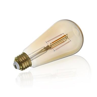 billige Elpærer-gmy st21 led edison pære 3,5w led filament lyspære ekvivalent 28w med e26 base 2200k varm hvit for soverom stue hjem kafé dekorative