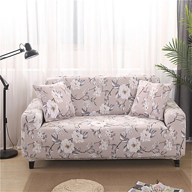 cheap Slipcovers-Sofa Cover Plants / Romantic Yarn Dyed Polyester / Cotton Blend Slipcovers