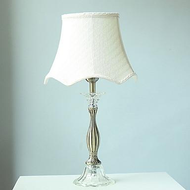 Enkel Dekorativ Bordlampe Til Soverom Krystall 220V