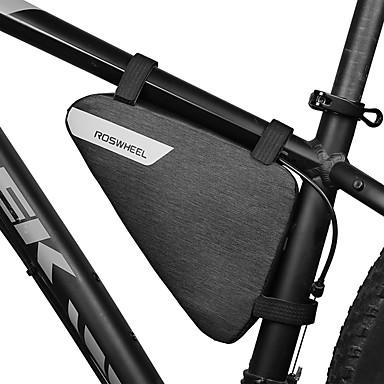 abordables Sacoches de Vélo-1.5 L Sac Cadre Velo Sac à armature triangulaire Etanche Portable Vestimentaire Sac de Vélo 600D Polyester Sac de Cyclisme Sacoche de Vélo Activités Extérieures Vélo Cyclisme