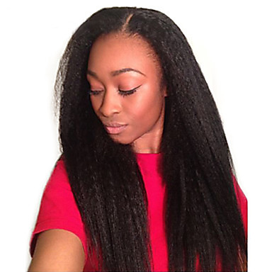 baratos Extensões de Cabelo Natural-Cabelo Mongol Liso 10A Cabelo Humano Ondulado Tramas de cabelo humano Extensões de cabelo humano / Reto
