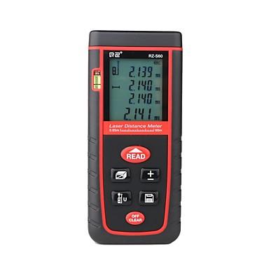 povoljno Oprema za testiranje, mjerenje i inspekciju-RZ® RZ-S60 0-60m Laserski mjerač udaljenosti Ručni dizajn / Jednostavan za korištenje / Pozadinsko osvjetljenje za mjerenje pametnog doma