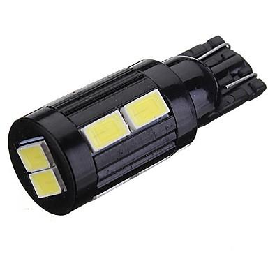 abordables Automotor-2pcs T10 / W5W Coche Bombillas SMD 5730 200 lm 10 Xenon HID Luz de Intermitente / Luz de la cola / Luces de posición lateral Para Todos los Años