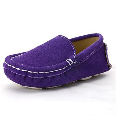 halpa Lasten loaferit-Poikien Synteettinen Mokkasiinit Taapero (9m-4ys) / Pikkulapset (4-7 vuotta) Comfort Ruskea / Sininen / Manteli Kevät / Syksy