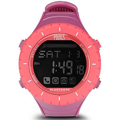 baratos Relógios Senhora-Mulheres Relógio Esportivo Ao ar Livre Fashion Rosa Chiclete Borracha Japanês Digital Rosa Impermeável Smart Bluetooth 100 m 1conjunto Digital Um ano Ciclo de Vida da Bateria / LCD / Panasonic CR2032