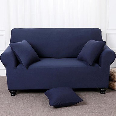 cheap Slipcovers-Sofa Cover Solid Colored Pigment Print Polyester Slipcovers