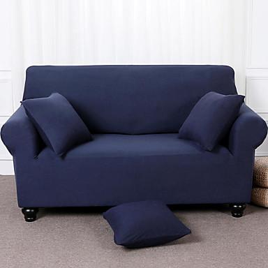 رخيصةأون غطاء-غطاء أريكة لون سادة الصباغ طباعة بوليستر الأغلفة