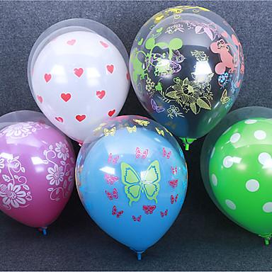voordelige Feestbenodigdheden-Ballon Latex 50 stuks Festival