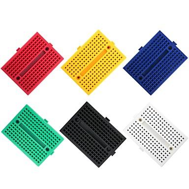 6kpl 170 tie-pisteiden mini-lautapakkaus arduinolle