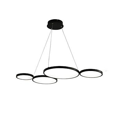 Circle / Industrial / Novelty Chandelier Ambient Light Painted Finishes Aluminum Creative, LED, New Design 110-120V / 220-240V Warm White / White