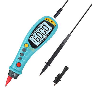 voordelige Test-, meet- & inspectieapparatuur-zoyi zt203 draagbare intelligente 6000 telt pen-type digitale multimeter ampèremeter met lcd-scherm auto ac / dc voltmeter tester