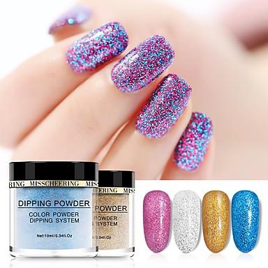 1 Pcs Migliore Qualità Glitter Glitter Per Unghia Della Mano Fashion Manicure Manicure Pedicure Quotidiano Alla Moda #07290660