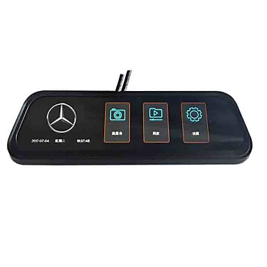 voordelige Automatisch Electronica-volledig scherm achteruitkijkspiegel streaming media auto dvr 170 graden groothoek 10 inch ips dash cam met nachtzicht / g-sensor / parkeerbewaking autorecorder