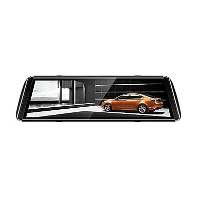 billige Bil-DVR-1080p streaming media bakspeilet bil dvr 150 graders vidvinkel 10 tommers ips dash kamera med nattesyn / g-sensor / parkering overvåkning bilopptaker