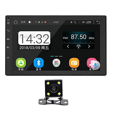 رخيصةأون مشغلات DVD السيارة-SWM H-2007+4LED camera 7 بوصة 2 Din Android 8.1 سيارة مشغل الوسائط المتعددة / سيارة لاعب MP5 / سيارة لتحديد المواقع المستكشف شاشة لمس / MP3 / بلوتوث مبنية إلى عالمي RCA / GPS / أخرى الدعم MPEG / MPG