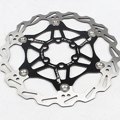 Polkupyörän kelluva jarrulevy Maastopyörä Käytettävä / Vähentää hiertämistä Aluminum Alloy / Ruostumaton teräs / rauta Musta / Tumman sininen