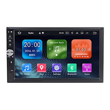 tanie Samochód Elektronika-Factory OEM WN7092S 7 in 2 DIN Android 9.0 Wbudowany odtwarzacz DVD / Samochodowy odtwarzacz multimedialny / Nawigacja samochodowa GPS GPS / Wbudowany Bluetooth / RDS na Univerzál RCA / GPS Wsparcie