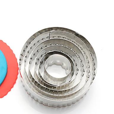 1kpl Ruostumaton teräs Uutuusvälineet keittiöön Leivonta-setit Bakeware-työkalut