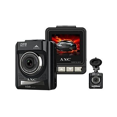 Factory OEM ANC A728 HD / Pimeänäkö Auto DVR 170 astetta Laajakulma 2 inch Dash Cam kanssa GPS / Pimeänäkö / G-Sensor Automaattinen tallennin