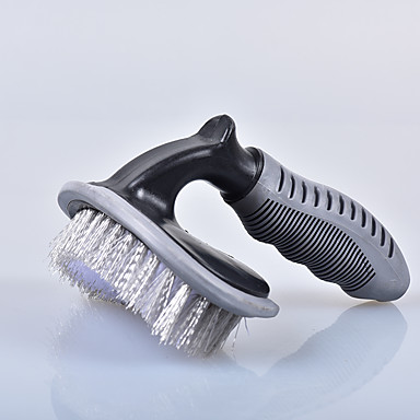 billige Automotiv-1 stk silikon bilvask børste lys i vekt flatt blå 15,8 * 14,4 cm