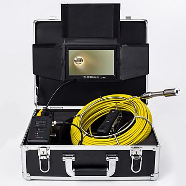 voordelige Microscopen & Endoscopen-23 mm lens Industriële endoscoop 4000 cm Werklengte Autoreparatie Inspectie Pijpleidingreparatie