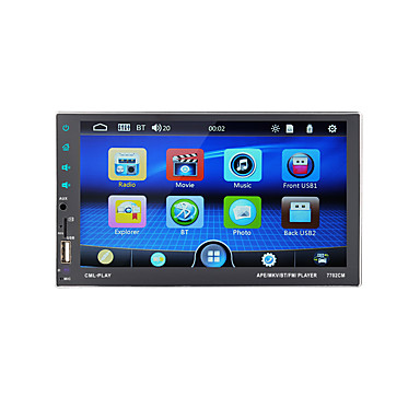 cheap Car DVD Players-7-inch 2 Din Car Multimedia Player Autoradio Bluetooth Touch Screen MP5 Player TF USB FM Radio Auto Media Player with iOS/Android Mirror Link