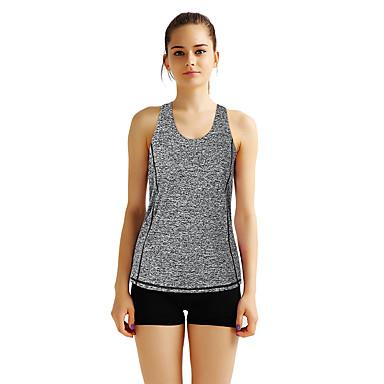 Naisten Yoga Top Urheilu Muoti Liivi Fitness Kuntosaliharjoitus Hihaton Activewear Kevyt Hengittävä Nopea kuivuminen Hikeä siirtävä Elastinen