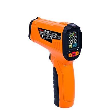 voordelige Test-, meet- & inspectieapparatuur-pm6519a laser lcd digitale ir infrarood thermometer temperatuurmeter pistool punt contactloze thermometer