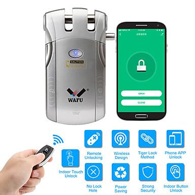 povoljno Elektronička oprema-wafu wifi daljinski upravljač pametna nevidljiva sigurnosna vrata zaključavanje app (ios / android sustav) protuprovalna brava za dom hotelski uredski stan s 433mhz (wf-010w)