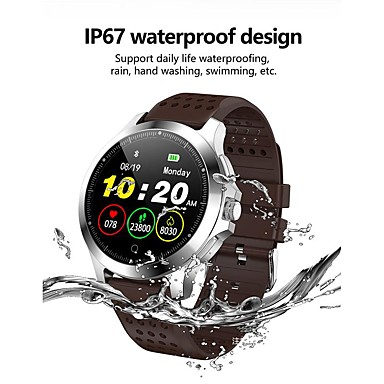 cheap Smartwatches-KUPENG W8 Unisex Smartwatch Android iOS Bluetooth Smart Sports Waterproof Heart Rate Monitor Blood Pressure Measurement Pedometer Call Reminder Activity Tracker Sleep Tracker Sedentary Reminder