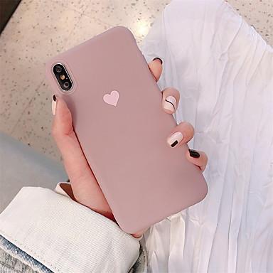 halpa iPhone kotelot-kotelo omena iphone xr / iphone xs max kuvio takakansi sydän pehmeä tpu iPhone x xs 8 8plus 7 7plus 6 6s 6plus 6s plus